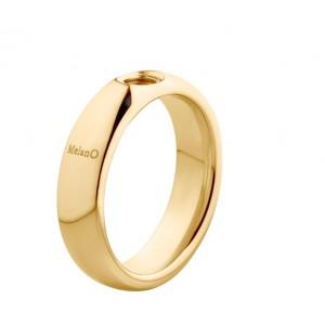 "MELANO VIVED STALEN RING ""VICKY"" GEEL 08MM MT50 - 71996"