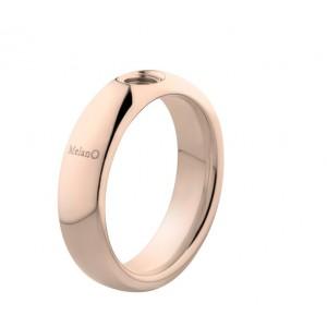 """MELANO VIVED STALEN RING """"VICKY"""" ROSE 10MM MT57 - 72033"""