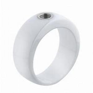 """MELANO VIVED CERAMIC RING """"VICKY"""" WHITE MT53 - 72062"""
